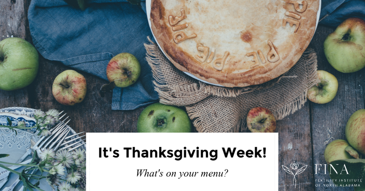 It's Thanksgiving Week!