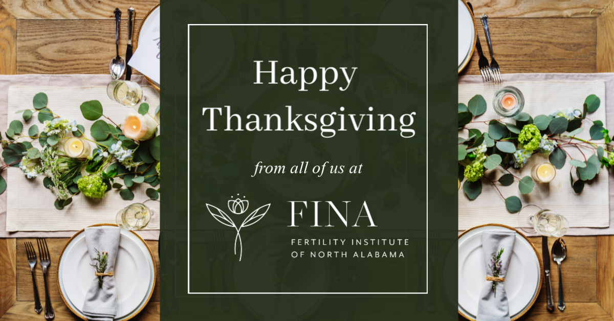 Happy Thanksgiving from all of us at FINA!