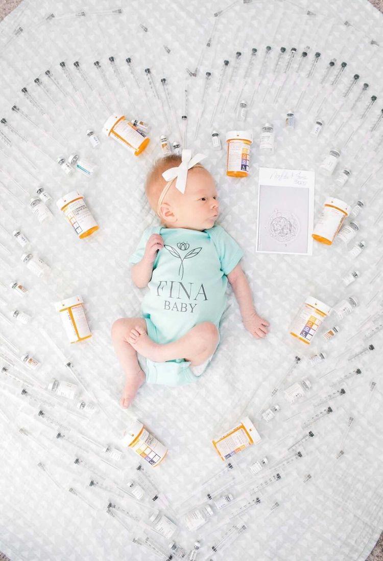 A precious FINA baby 💕