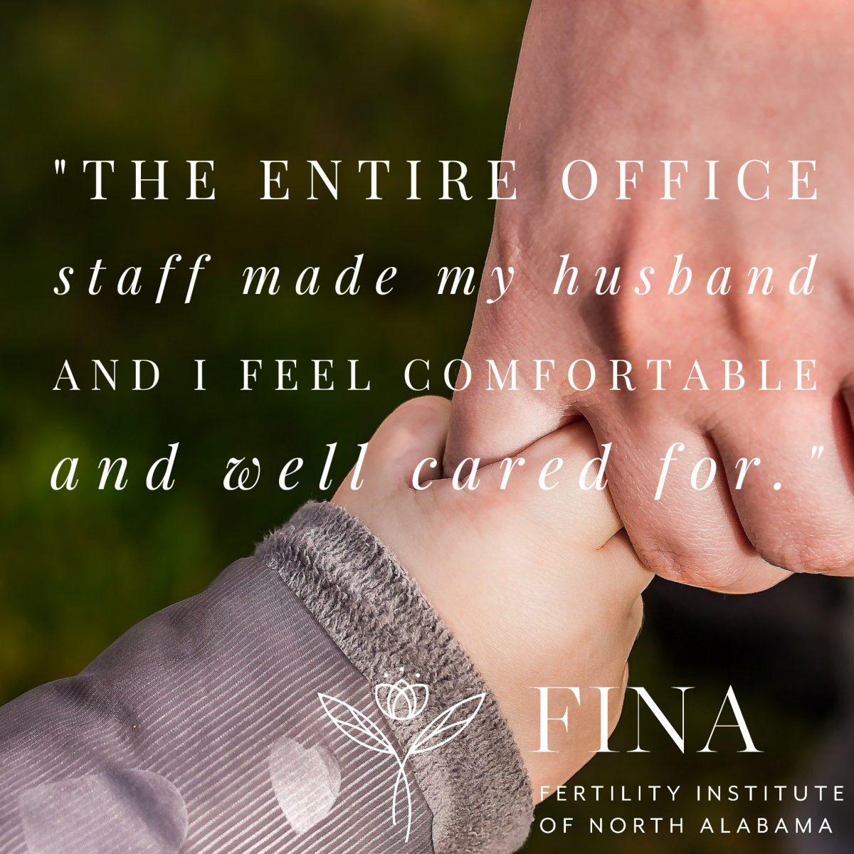 A Patient's FINA story…